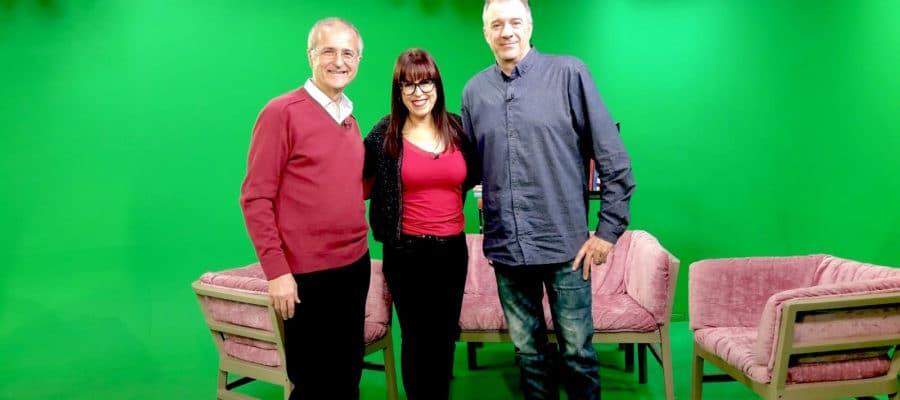 """Entrevista en lleida tv, en el programa """"diari de nit-magazine"""""""