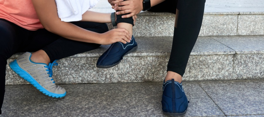 Cómo curar un esguince de tobillo | Centre Kine